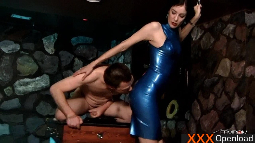 Chow down on your own cum Femdomempire 2013 Victoria Sapphire Ass Worship, Cum  Eating